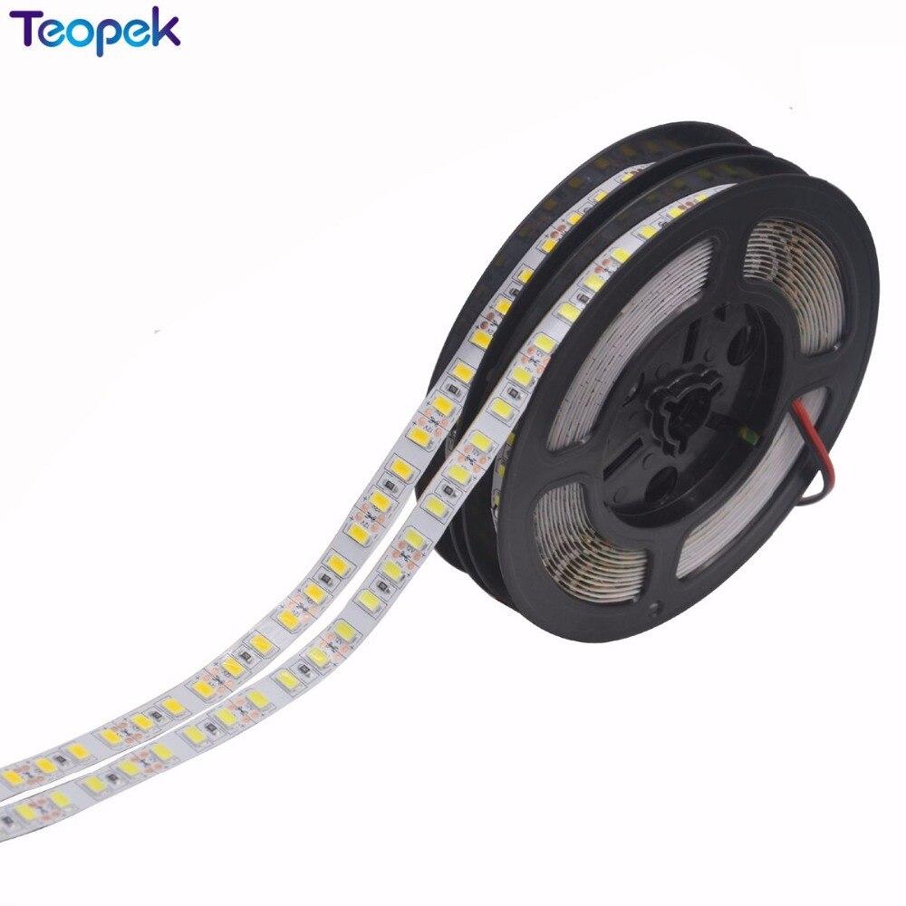 Super Bright 5m 5630 LED Strip 120 Led/m IP20/IP67 Waterproof, 12V Flexible 600 LED Tape,5630 LED Ribbon, White/warm White Color