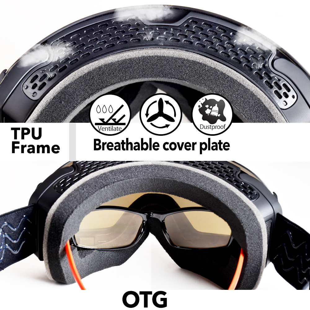 140046bc91f6 Detail Feedback Questions about Snowledge Ski Goggles Womens Men s ...