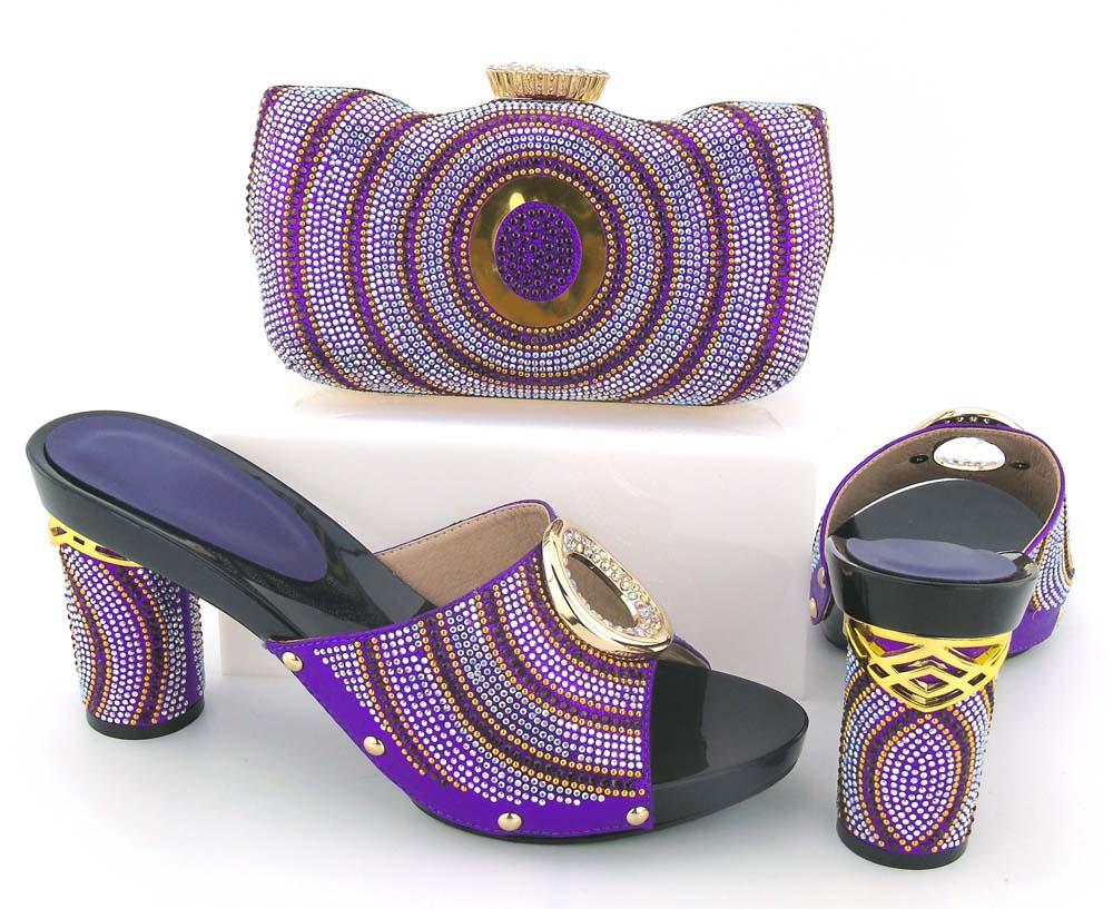 Purple african women shoes and bag set italian newest 2018 designs big size 38 to 43 shoes and bag to match BCSB0036 термокружка титан nz nz 450 мл