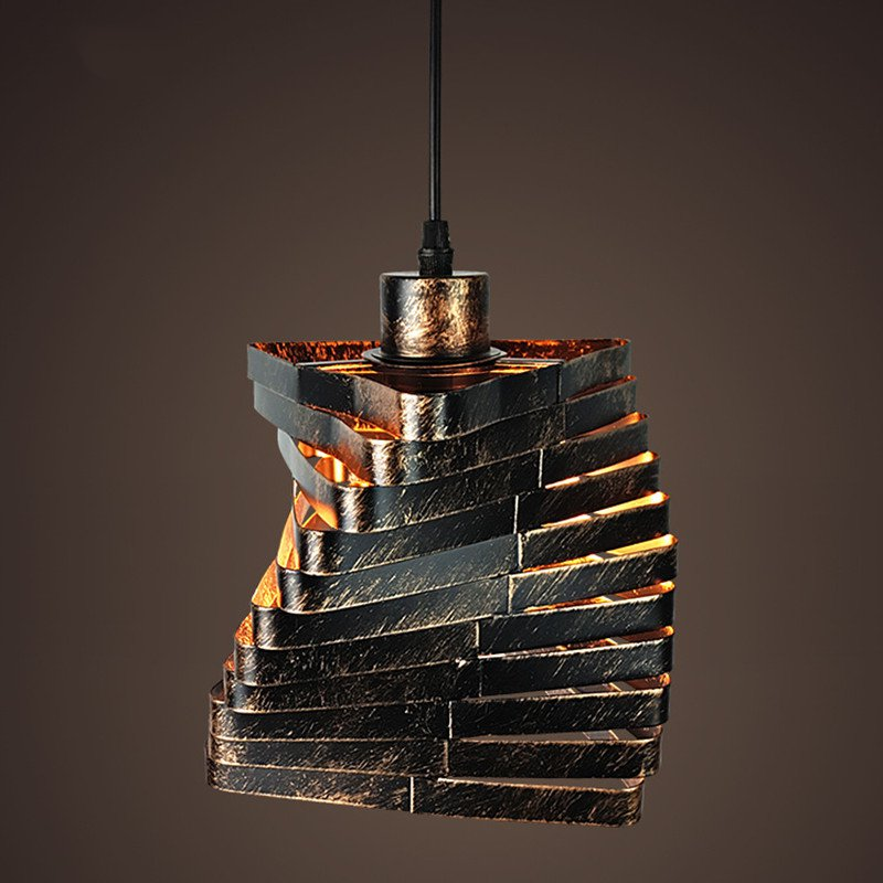 וינטאג 'תליון אורות רטרו תליון מנורה - תאורה פנימית