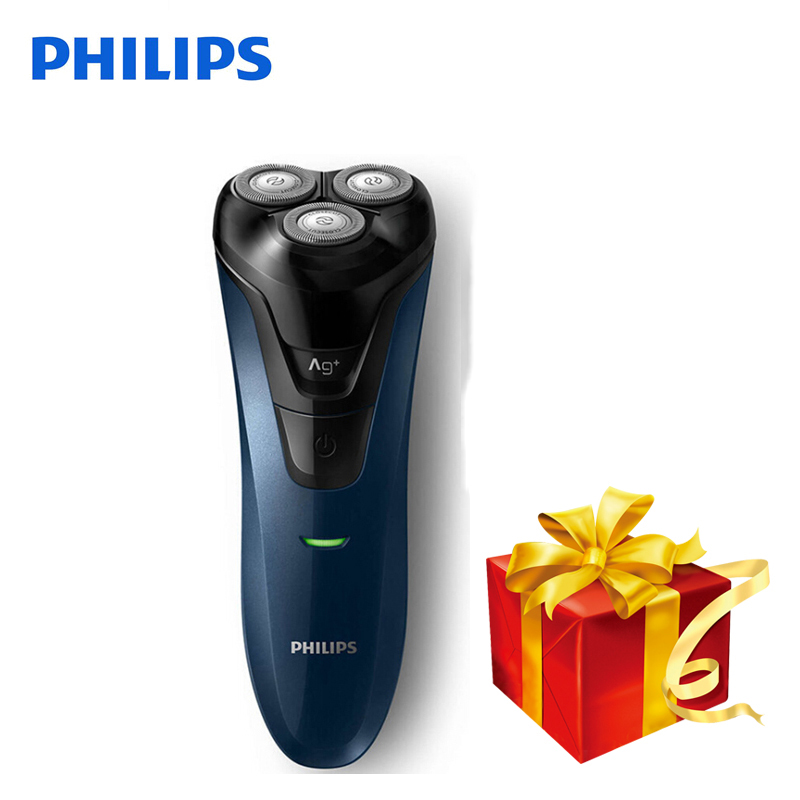 Original Philips Electric Shaver FT668 Rotary Rechargeable Washable For Men's Electric Razor Wet/Dry With Ergonomics Handle povos pq8608 wet dry power rechargeable men s razor