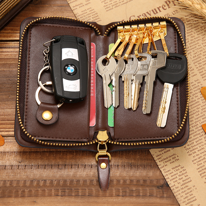 chaves portefeuille porte cle Material : Leather Key Pouch