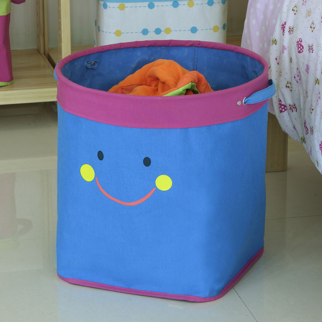 Hot High Quality Smiling Storage Box For Kids Toys Dirty Clothes