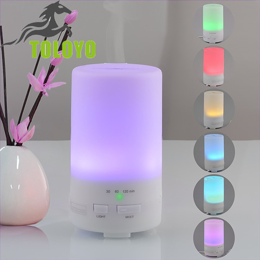 pretty nice abae3 0b2f1 TLY-51 LED Light 7 Color Change Dry Protect Ultrasonic Essential Oil Aroma  Diffuser Air Humidifier Mist Maker Home Office
