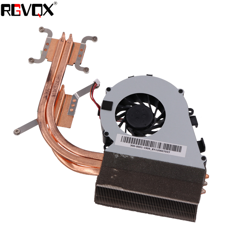 Купить с кэшбэком New Laptop Fan Heatsink for SONY For VAIO VPC-F2 Series PN:300-0001-1909_BY1206070DP CPU Cooler/Radiator