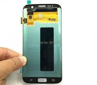 Для samsung Galaxy S7 край G935F жидкокристаллический дисплей экраны кривой ЖК сборки ЖК Ремонт Замена