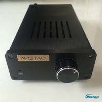 IWISTAO 2X20W HIFI Amplifier Stereo LM1875 Power Amp Desktop Independent Rectifier L R Channel Speaker Protection
