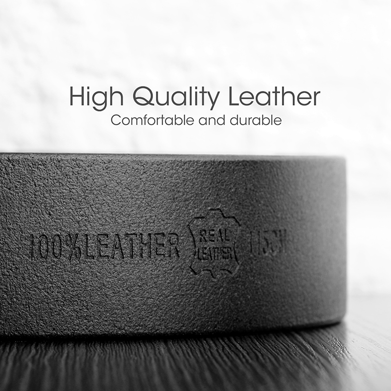 30484b1f2840 JASGOOD Genuine Leather Belt Men Designer Belts High Quality Men belt with  Luxury Metal Buckle Cinturones Hombre-in Men s Belts from Apparel  Accessories on ...