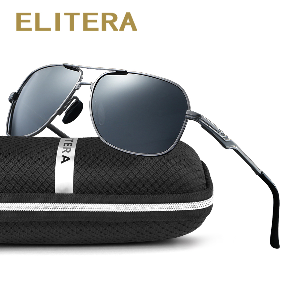 ELITERA 2018 New Arrival Fashion Polarized Sunglasses Men Women Travel Sun Glasses For Driving Golfing Eyewear Gafas De Sol
