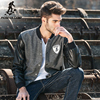 Pioneer Camp 2016 New Fashion Spring Mens Hoody Jacket Black Fit Streetwear Male Coat Gym Active