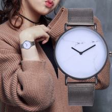 цены Simple Women Watches Mens Watch Mesh Strap Band Ultra-thin Quartz WristWatch Fashion Clock Montre Femme Relogio Feminino