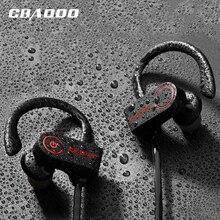 CBAOOO K8 Беспроводной наушники Bluetooth Спорт потонепроницаемая гарнитура бас стереонаушники IPX4Headphone с микрофоном для телефона