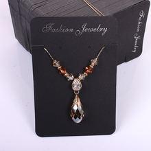 100 шт/лот модные ювелирные изделия ожерелье и серьги подвески