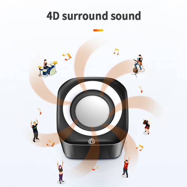 Portable Mini Speaker Stereo