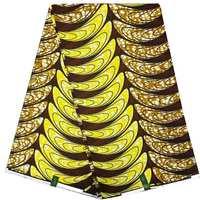 Free Shipping 2019 Ankara hot sale Wax African Real Dutch Wax Veritable Wax dashiki party material For Women Dress 6yards