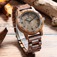 UWOOD Unisex Fashion Natural Wooden Quartz Watch Clock Men Watches Top Brand Luxury Casual Business Wood Watch Relogio Masculino