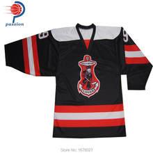 5ff2ceb68 Factory Wholesale Price OEM Brand Hockey Jerseys With Custom Sublimation  Printing Design