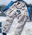 Мужская одежда, Мужская с капюшоном ватки зимнее пальто спорт бейсбол равномерное рука и шерсть зимой , чтобы согреться