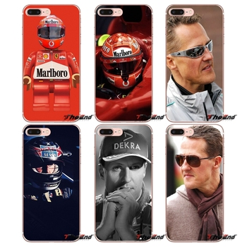For Samsung Galaxy S3 S4 S5 MINI S6 S7 edge S8 Plus Note 2 3 4 5 Grand Core Prime Michael Schumacher World Star Sport Case