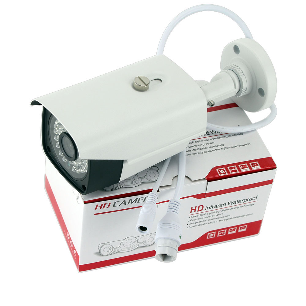 H 264 H 265 SONY IMX323 IP Camera Ultra Low Illumination 2MP Outdoor Waterproof 1080P IP