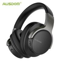 Ausdom ANC8 Wireless Headphones Bluetooth Headphones ANC Active Noise Cancelling Wireless Bluetooth Headset HiFi Bass Microphone