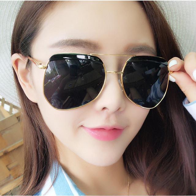 Mix Vento Novas mulheres óculos de sol da marca designer óculos de sol personalidade colorida sobrancelha irregular maré óculos de Sol para o navio livre