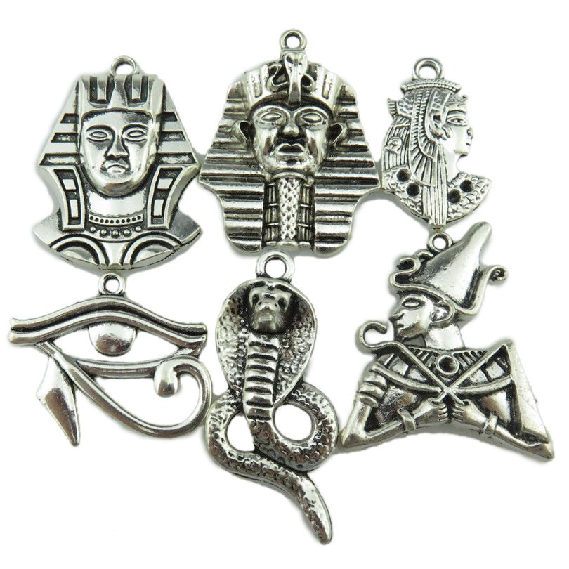 Free Shipping 6x Vintage Egypt Egyptian Pharaoh Snake