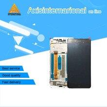Лучшие Для 5,2 »zte Нубия Z11 мини S NX549J Axisinternational ЖК-дисплей экран + сенсорный дигитайзер с рамкой Белый/ черный Бесплатная доставка