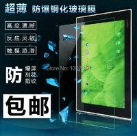 9 h dureza vidrio templado protector de pantalla anti shatter cine a prueba de explosiones de la guardia para sony xperia tablet z2 z 2 (2014) 10.1