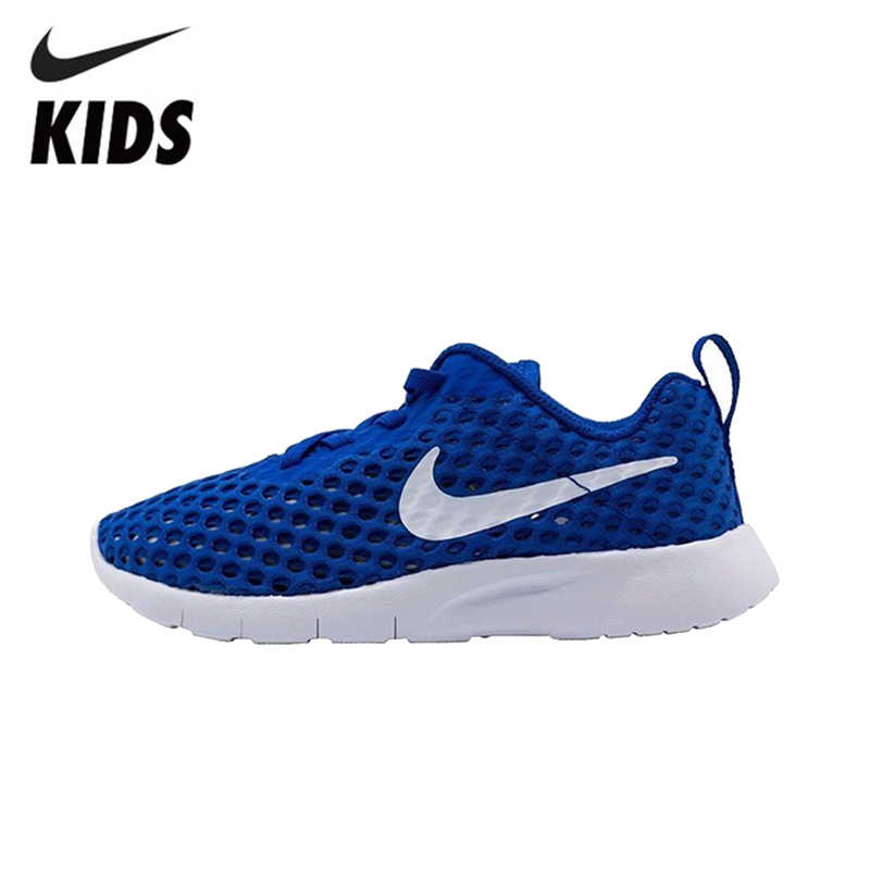 0e994042 Nike Новое поступление оригинальный для мальчиков и девочек сетки обувь  дышащие кроссовки детей кроссовки # AO9605