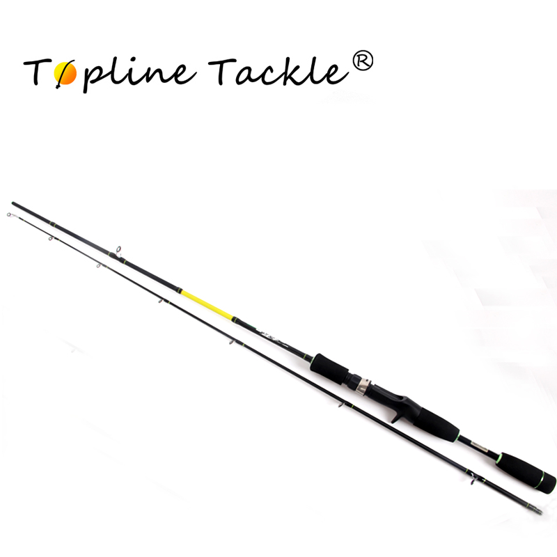 Topline Tackle 2 tip spinning fishing rod 1.8 M lure weight Casting Lure Fishing Rod high quality fishing rod lure fishing pole super hard durable wood handle road fishing rod fishing tackle 1 8 m 2 1 m 2 4m