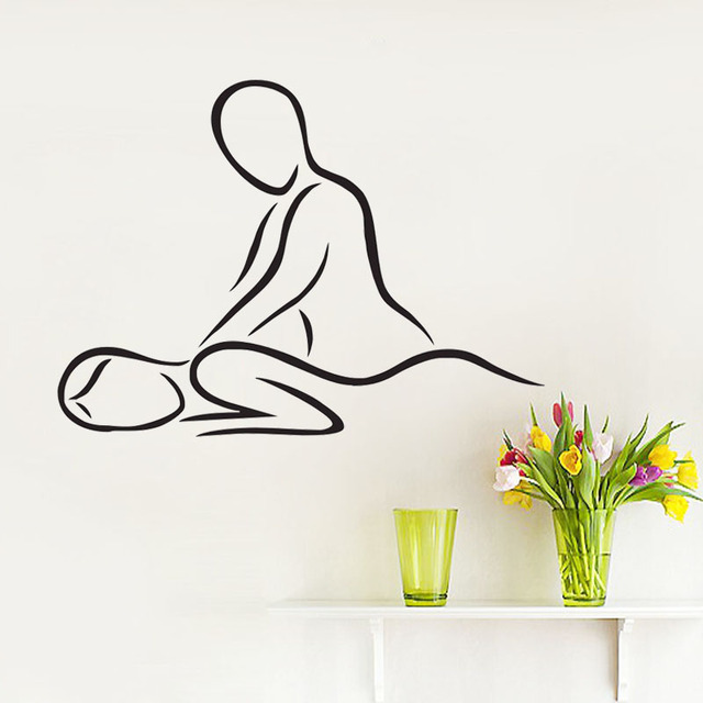 Spa Beauty Salon Wall Decal Art Modern Design Wall Vinyl