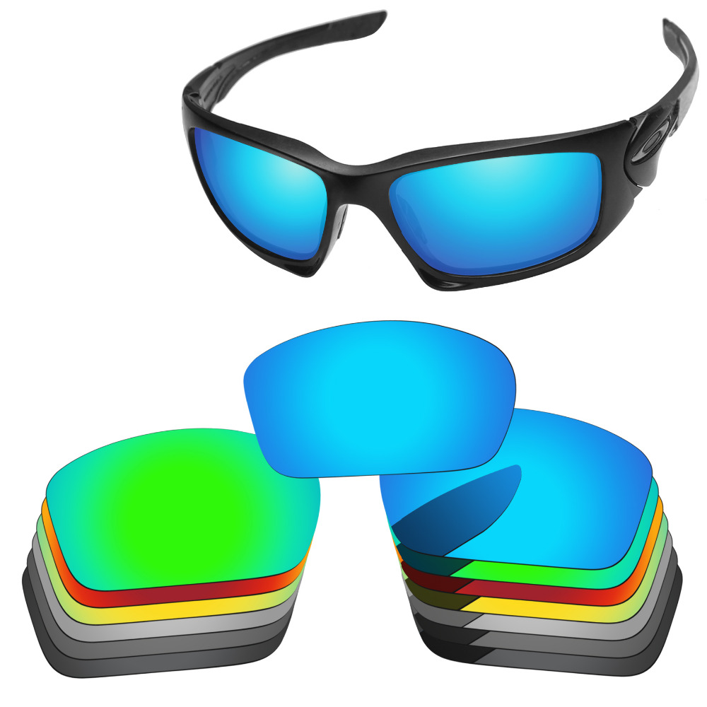 PapaViva POLARIZED Replacement Lenses for Scalpel Sunglasses 100% UVA & UVB Protection - Multiple Options