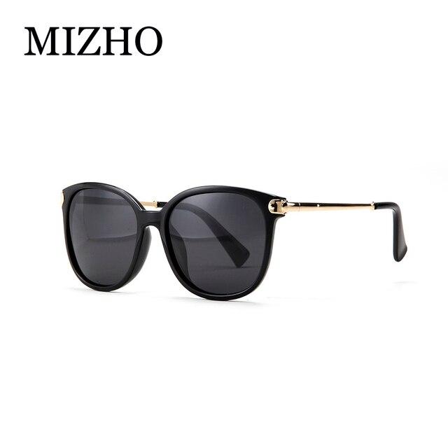 c966db28996c1 MIZHO Высокое качество HD оригинальные солнцезащитные очки Для женщин  Polaroid щит FDA с антибликовым покрытием UV400