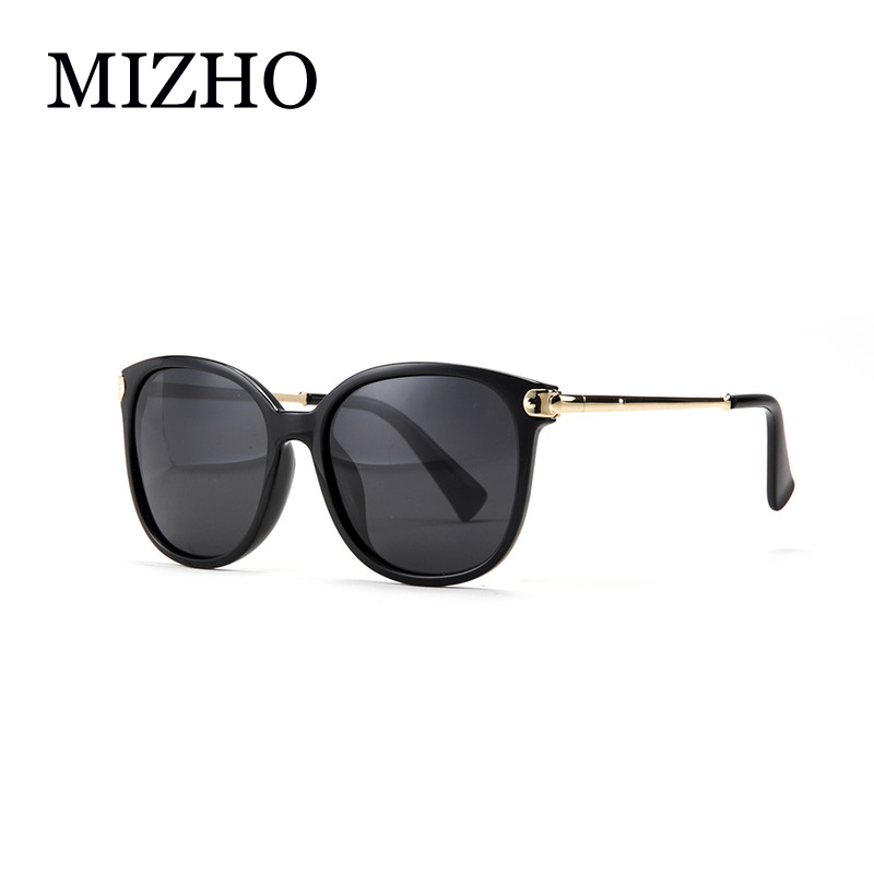 MIZHO Gafas de sol originales de alta calidad Mujeres Polaroid Shield FDA Anti Glare UV400 Polarized Sunglass Ladies Luxury Brand 2020