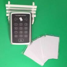 Darmowa wysyłka 13 56mhz IC M1 kontrola dostępu za pomocą karty IC System kontroli dostępu do drzwi zbliżeniowych klawiatura System kontroli dostępu drzwi tanie tanio stteypco access control 1000 Door Access Control 1000 user cards ID card Card Password 120*78*22mm