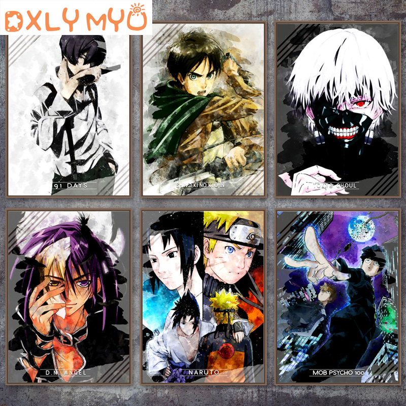 5D DIY Diamond Embroidery Anime Naruto Cartoon Picture Full Diamond Painting Cross Stitch NORAGAMI YATO TOKYO GHOUL <font><b>91</b></font> <font><b>DAYS</b></font> image