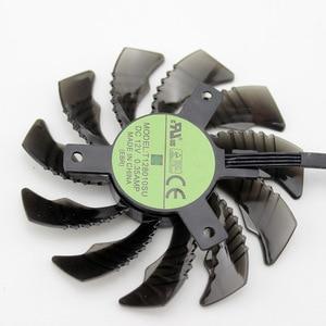 Image 3 - 75 ミリメートル T128010SU 0.35A 冷却ファンギガバイト AORUS GTX 1080 1070 Ti G1 ゲームファン GTX 1070Ti G1 ゲームビデオカードのクーラーファン