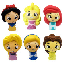 6 Pics/set Squishies PU Toys  Fairy Tale Princess Slow Rising Antistress Dolls Funny Gift Room Decoration for Girls 11CM