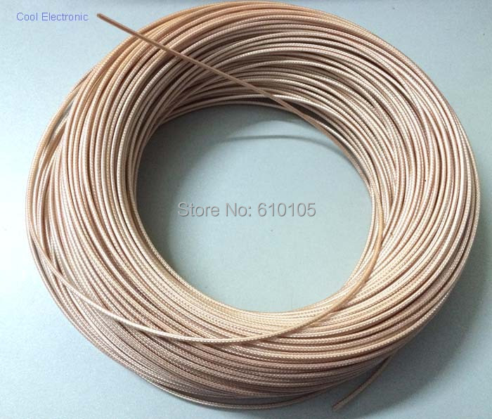 50m 150ft RG316 RG 316 cable Wires RF coaxial cable 50 Ohm