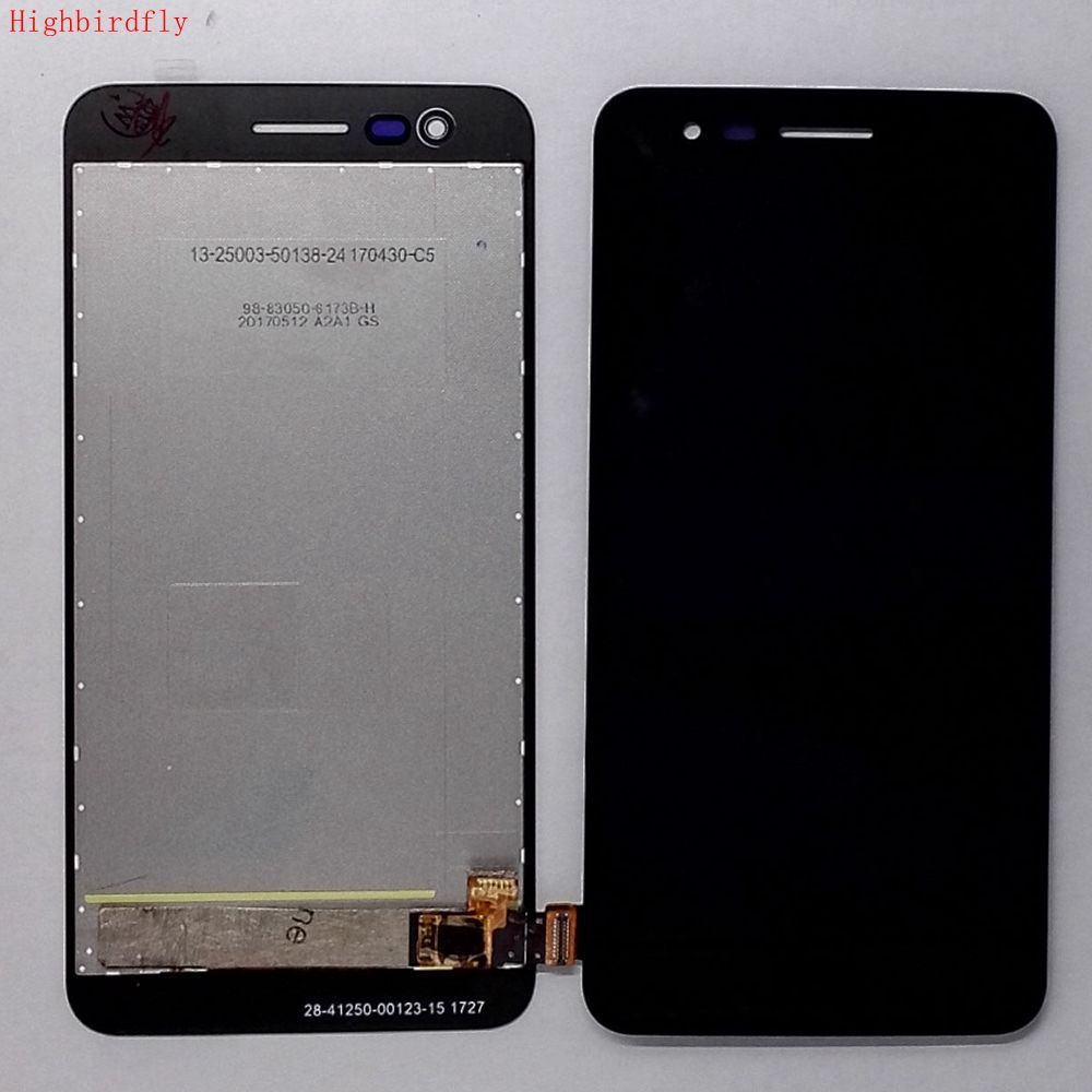 Highbirdfly For <font><b>Lg</b></font> K7 2017 X230i <font><b>X230</b></font> X230K <font><b>Lcd</b></font> Screen+Touch Glass Digitizer+Frame Assembly Replacement Parts image