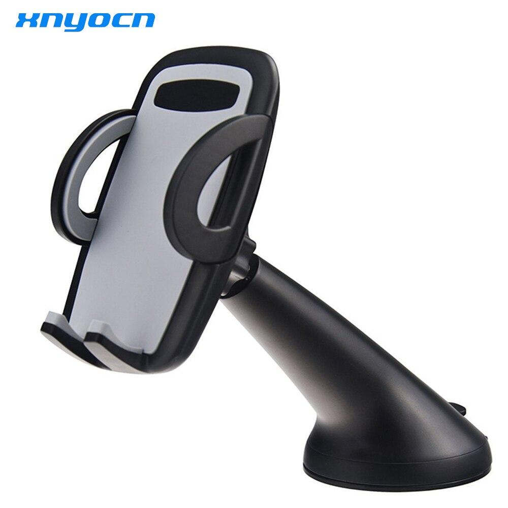 Xnyocn Adjustable 360 Universal Car Holder Air Vent Mount Dock Mobile Phone Holder for iPhone7 6 6s plus Samsung S7 Edge S8 Plus mobile phone car vent holder
