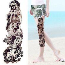Wyprzedaż Free Style Tattoo Leg Galeria Kupuj W Niskich