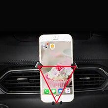 Per Mazda CX-5 CX5 2nd Gen 2017 2018 2019 Car Air Vent Supporto Del Supporto Del Telefono per il Telefono Mobile Stabile Culla smart Basamento Del Telefono