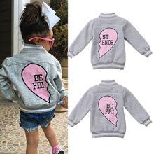 Lovely Kids Boys Girl Warm Long Sleeve Outdoor Coat Toddler Baby Jacket