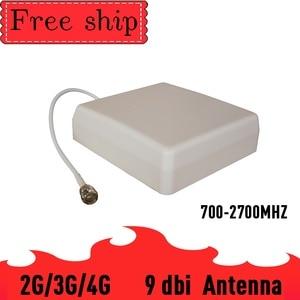 Image 2 - 9dbi מחוץ פנל אנטנת מגבר אות CDMA UMTS GSM 700 ~ 2700 mhz רווח 9dbi עבור טלפון סלולרי בוסטרים משחזר 2G 3G 4G 5dbi Wh