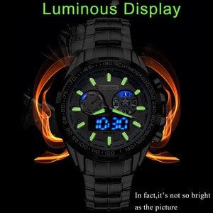 Image 2 - BOAMIGO 最高級ブランドの男性のスポーツは、軍事ファッションビジネス鋼デジタルクオーツ腕時計ギフト時計レロジオ masculino