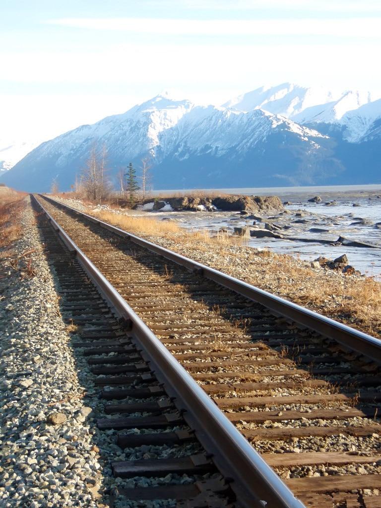 5x7ft Vinyl Custom Railway Theme Photography Backdrops Prop Photo Studio Background NTG-336