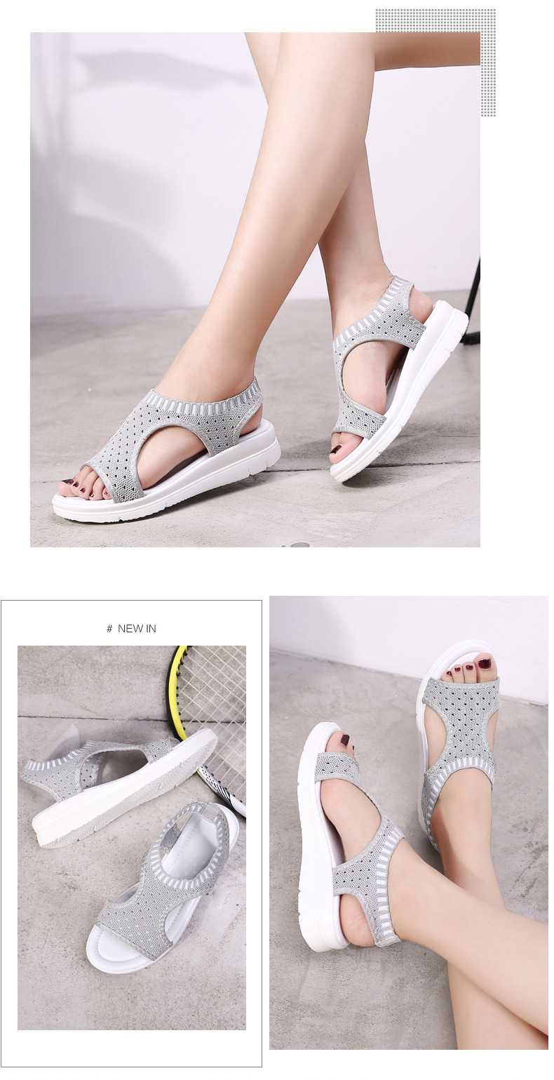 HTB1iSLiiDqWBKNjSZFxq6ApLpXa0 MLANXEUE Fashion Women Sandals For 2019 Breathable Comfort Shopping Ladies Walking Shoes Summer Platform Black Sandal Shoes