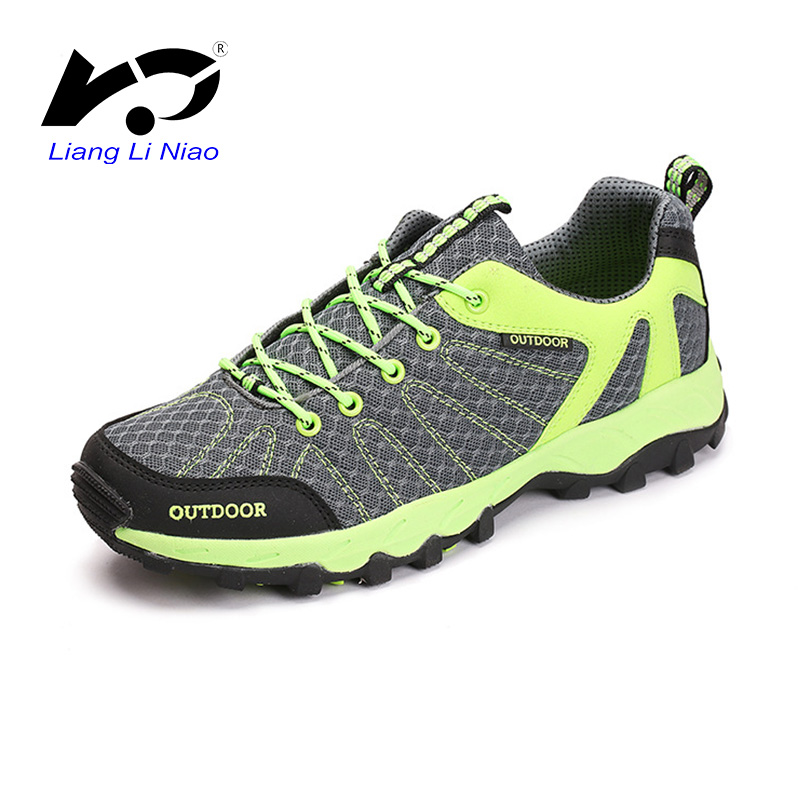 2017 Hiking Shoes Men Spring Outdoor Climbing Shoes Men Mesh Breathable Trekking Boots krasovki Camping Women Athletic Shoes shu uemura uv spf30 pa 65g